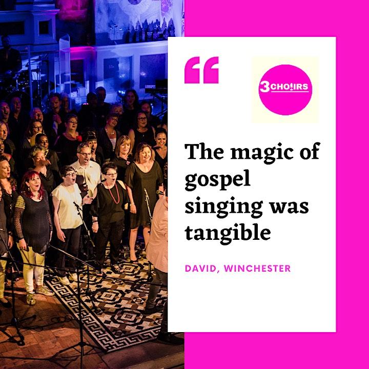 3 Choirs - An evening of Soul & Gospel celebrating image