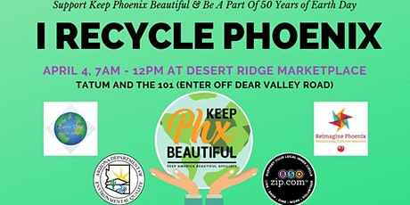 I Recycle Phoenix - Desert Ridge Marketplace tickets