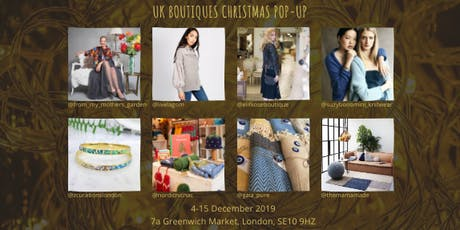 UK Boutiques Independent Christmas Pop-Up tickets