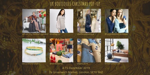 UK Boutiques Independent Christmas Pop-Up