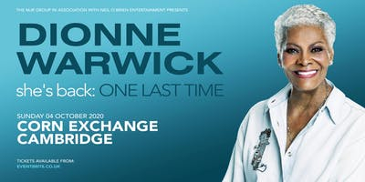 Dionne Warwick 2020 (Corn Exchange, Cambridge)