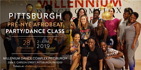 Pre-NYE Afrobeat Party/Dance Class tickets