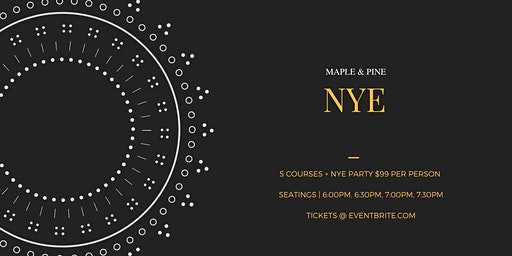 Quirk NYE Dinner + Party