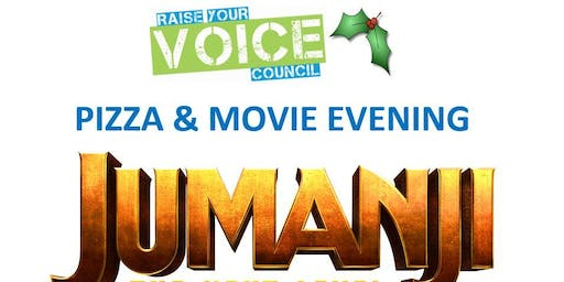 Pizza & Movie Night with Raise Your Voice Council