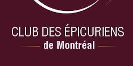 Soirée Club des Epicuriens - Episode 3 - Saison 1 billets