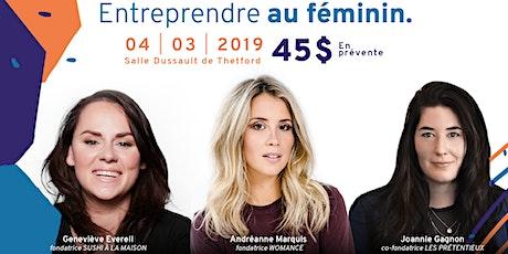 Conférence : Entreprendre au féminin billets