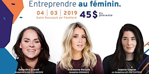Conférence : Entreprendre au féminin