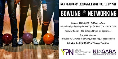 NAR YPN Bowling and Networking Social tickets