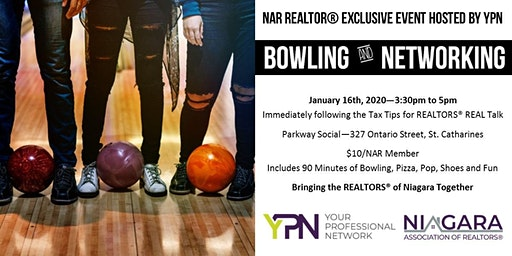 NAR YPN Bowling and Networking Social