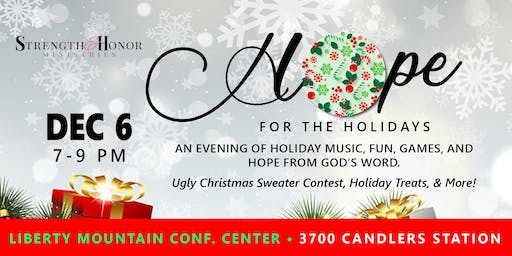 Hope for the Holidays - Christmas Event