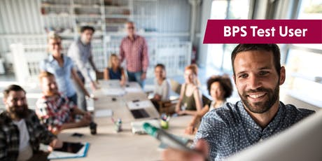 BPS Test User Ability and Personality   Guildford tickets