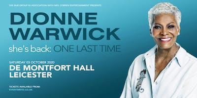 Dionne Warwick 2020 (De Montfort Hall, Leicester)