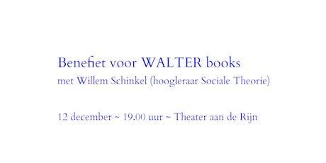 Benefietdiner WALTER books met Willem Schinkel tickets