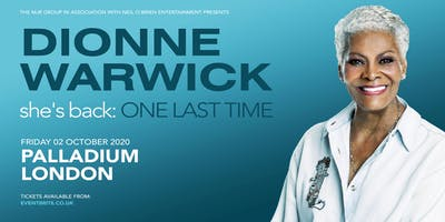 Dionne Warwick 2020 (The London Palladium, London)