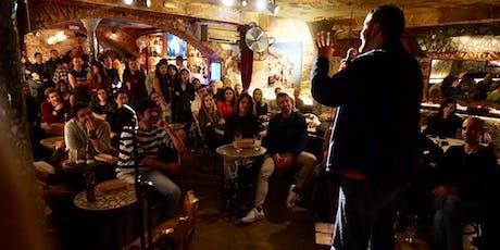 More English Comedy Nights at Cave entradas