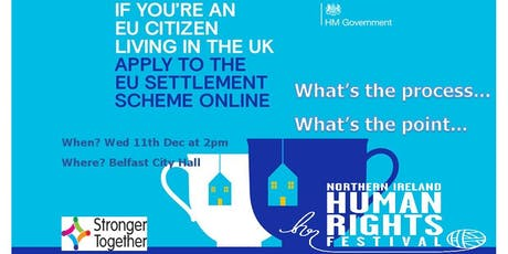 EU Settlement Scheme. What's the Process? What's the Point? tickets