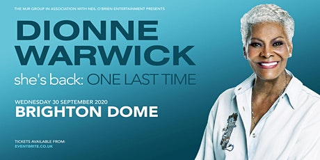 Dionne Warwick 2020 (Dome, Brighton) tickets