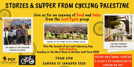 Stories & Supper from Cycling Palestine tickets