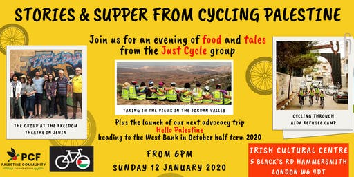 Stories & Supper from Cycling Palestine