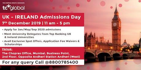 UK - IRELAND Admissions Day in Mumbai - Free Registration tickets