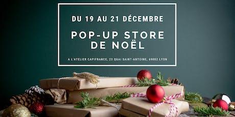 Pop Up Store de Noël billets