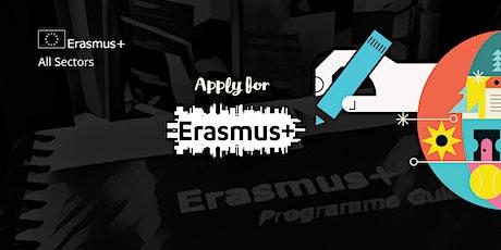 Erasmus+ KA2 Strategic Partnership Application Workshop - Vocational Training, Adult Ed, School Ed (201) and Youth, Dublin tickets