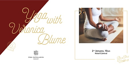 De-Stress Series: Yoga with Verónica Blume entradas