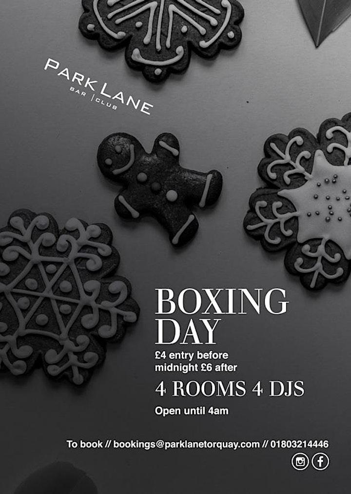 Boxing Day at Park Lane image