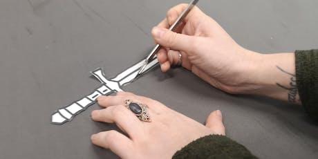 Beginners Prop Making - 1 day foam daggers & throwing axes tickets