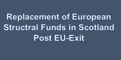 Replacement of European Structural Fund In Scotland Post EU Exit Dumfries Event tickets