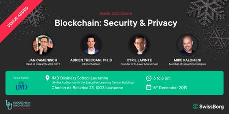 Crypto Reunion: Blockchain, Security & Privacy tickets