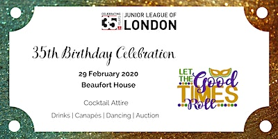 Junior League of London - 35th Birthday Bash