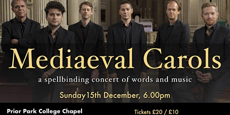 Mediaeval Carols at Prior Park College with Opus Anglicanum tickets