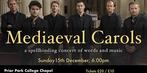 Mediaeval Carols at Prior Park College with Opus Anglicanum
