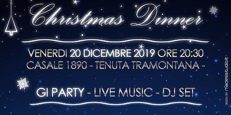 Christmas Dinner 2019 Gi Reggio Calabria  biglietti