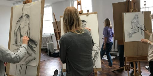 Saturday Life Drawing Session with Alex Roberts