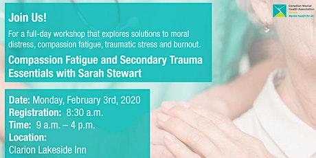 Compassion Fatigue and Secondary Trauma Essentials with Sarah Stewart tickets