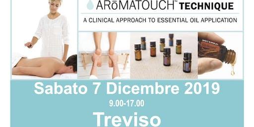 AROMATOUCH TECHNIQUE a  TREVISO con Sabrina e Marco Petrollini dōTERRA BD