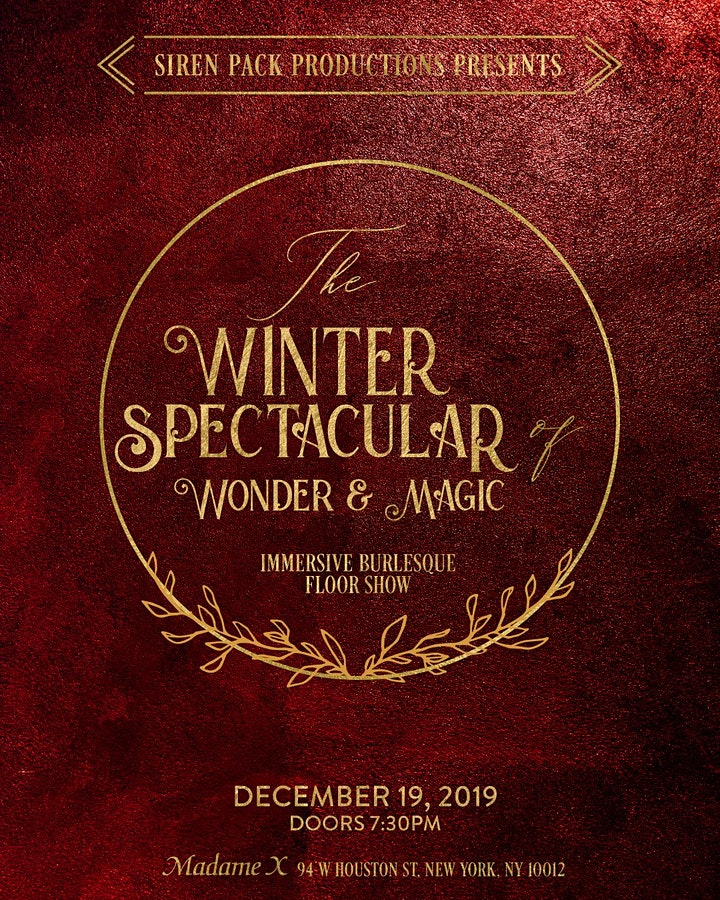 The Winter Spectacular - Immersive New York  Variety Show image