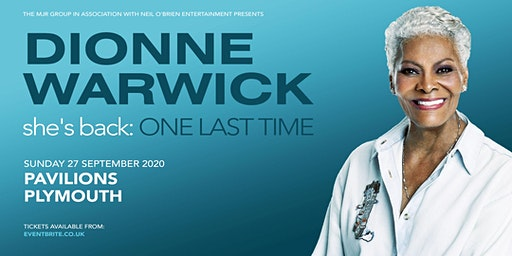 Dionne Warwick 2020 (Plymouth Pavilions, Plymouth)