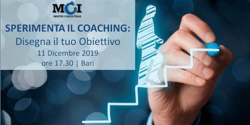 Sperimenta il Coaching: Disegna il tuo Obiettivo