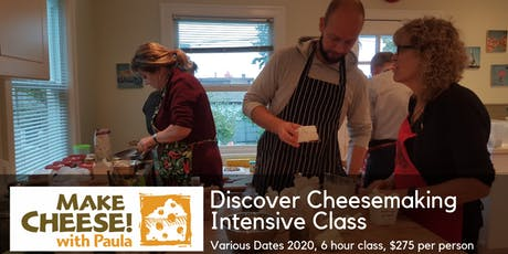 Discover Cheesemaking Intensive Class March tickets