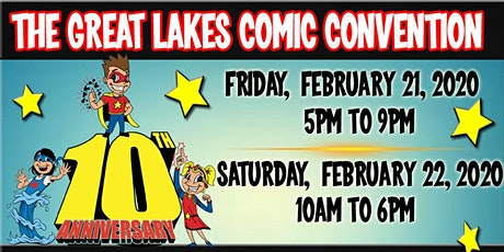 The 2020 Great Lakes Comic-Con tickets
