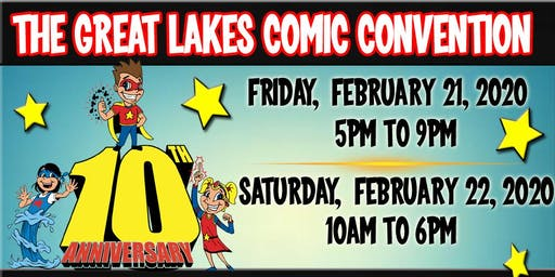 The 2020 Great Lakes Comic-Con