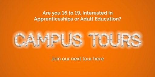 Campus Tours Friday 15 May 2020