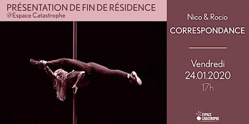Présentation de Fin de Résidence > CORRESPONDANCE - Nico & Rocio