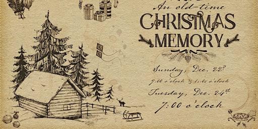 An Old-Time Christmas Memory