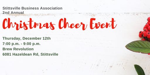 Stittsville Business Association 2nd Annual Christmas Cheer Event