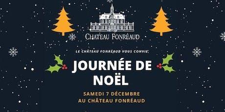 Journée de Noël au Château Fonréaud ! billets