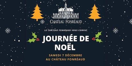 Journée de Noël au Château Fonréaud !